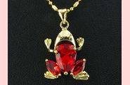 Pendentif FROOGY or jaune rubis 02