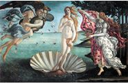 Botticelli-Vnus sortie des eaux-1485-Wikipedia