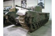 Mark IV  'Churchill', musée de Saumur