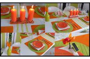 table orange et anis