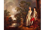 Gainsborough Portrait of the Heneage Lloyd et sa soeur