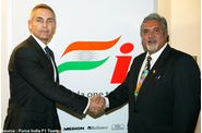Force India - Martin Whitmarsh, Vijay Mallya