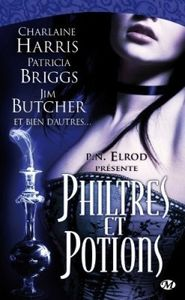 book cover anthologie bit-lit philtres et potions 148534