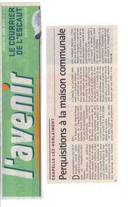l-avenir le-courrier-de-l-escaut 20100624 chapelle-lez-herl
