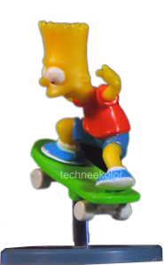 figurine bart Simpson