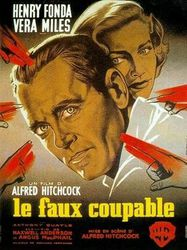 1956 Le faux coupable affiche (1)