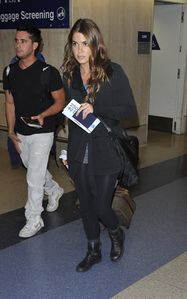 nikki reed LAX airport 2