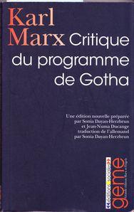 Marx Gotha