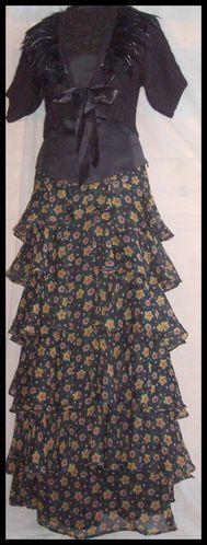 Gilet mango - corset Vero Moda - jupe Kate Moss Topshop