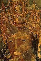 Ajanta fresques mural (6)