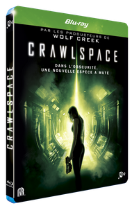 CRAWLSPACE BLURAY FOURREAU 3D