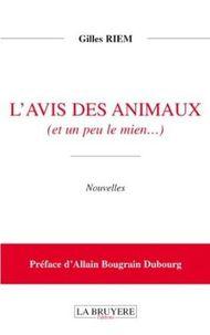 CC - 2013/03/26 - L'avis des animaux (Gilles RIEM)