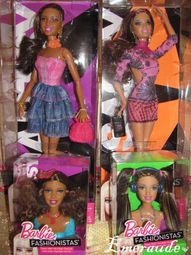 Barbie Fashionistas, Artsy, Sassy et Sporty - 11.07.22