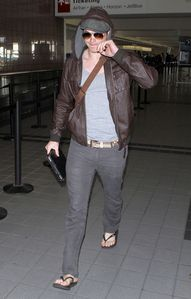 Kellan Lutz Arriving Flight Vancouver 2