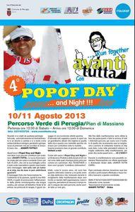 Popof day and Night (4^ ed.). A Perugia, tra il 10 e l'11 agosto 2013