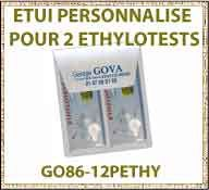 Vig Etui ethylotest GO86 12PETH