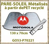 Vig Pare soleil metalise pet recycle P70221