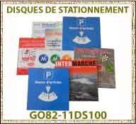 Vig disque stationnement GO82 11DS100