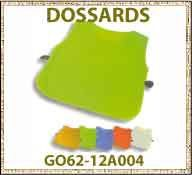Vig dossard GO62 12A004