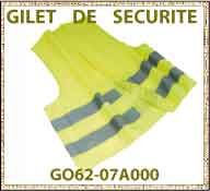 Vig gilet de securite GO62 07A000