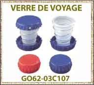 Vig verre de voyage telescopique GOVA
