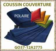 vig Coussin couverture polaire voiture GO37 12A2775