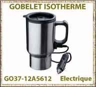 vig Gobelet isotherme electrique voiture GO37 12A5612