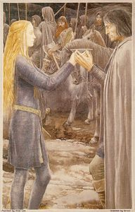 Alan-Lee/ Eowyn-et-Aragorn