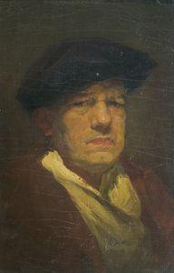 Autoportrait au béret