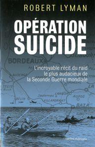 Couverture de l'ouvrage 'Opération suicide'