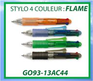 OBJPUB menu FLAME 4 couleurs