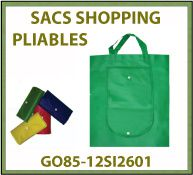 Vig Sac cabas intisse pliable pliabag