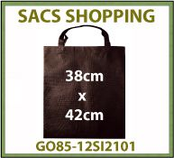 Vig Sac shopping intisse basicbag 38x42cm