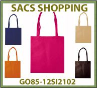 Vig Sac shopping intisse dovbag 40x40cm