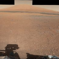 MSL - Mars - Panorama - Mont Sharp - Mastcam - Centre