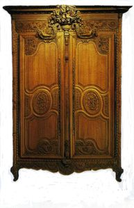 l 39 armoire de mariage normande du c t de chez nous. Black Bedroom Furniture Sets. Home Design Ideas