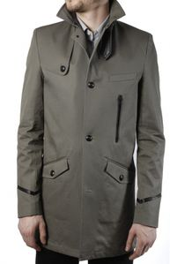 trench homme the kooples