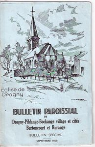 bulletin paroissial 1