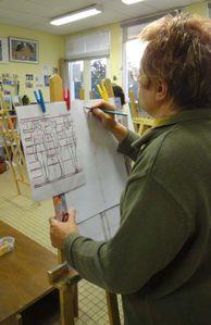 Atelier de Flo 08 Croquis dessin modèle Flo Megardon 3