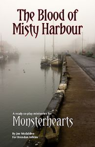 The Blood of Misty Harbour cover