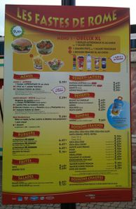 asterix menu fastes rome