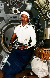 Mae Jemison - 1956- 1st Black Woman To Fly In To Space in 1