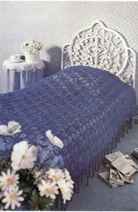 dessus de lit en dentelle au crochet hexagones tutoriel gratuit le blog de crochet et tricot. Black Bedroom Furniture Sets. Home Design Ideas