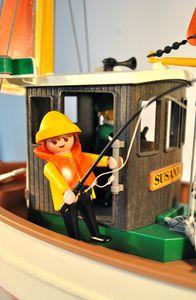 Fishing boat Suzanne Playmobil