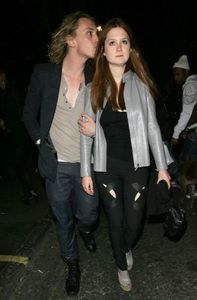 jamie campbell bower + bonnie wright 1