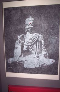 Bouddha argent