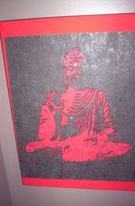 Bouddha rouge