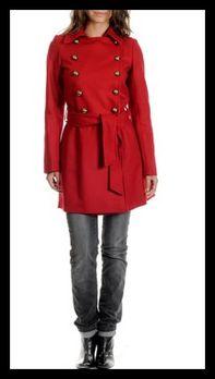 Manteau officier rouge KookaÏ