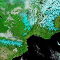 Aqua - MODIS - France Sud - 06-12-2012 - 721