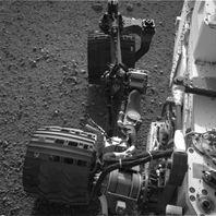 MSL - Rover - NavCam - Gauche - bilan de santé 3